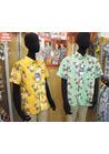 ◇柔らかで明るい印象のアロハシャツ☆