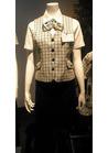 ◇大人爽やかなミントグリーンチェックの会社用制服