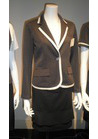 ◇女性の品格溢れるマリンボーダージャケットの会社用制服