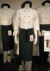 ◇大人の魅力を引き出すダークグリーンの飲食店用制服