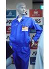 ◇爽やかブルーが気分を高めるJIS適合帯電防止の作業服