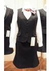 ◇ファイテンの2wayスカーフリボンがポイント♪の会社用事務服