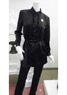 ◇ハンサムなブラックサテンのチュニック制服