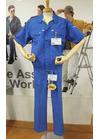 ◇ブルーで爽やか!JIS適合帯電防止素材の作業ユニフォーム