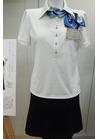 ◇爽やかなポロシャツ風カットソーの会社制服