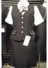 ◇エレガントでラグジュアリーなボーダーツイード事務服