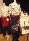 和柄プリントシャツ 和食のたのしい制服☆