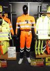 JIS T 8127準拠 高視認安全作業着長袖シャツ オレンジ