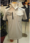 一枚でもさらっと着れる 肩補強作業ポロシャツ