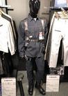 フルハーネス対応の縦型胸ポケット☆バイオウォッシュ加工長袖シャツ 作業着
