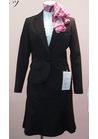 ◇上品な黒のオフィス事務服