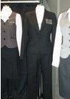 ◇洗練されたブラックが魅力*パンツスーツの企業向け制服