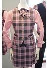 ◇アイドル的ピンクチェックのトラッドポップな華やか制服