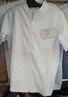 ◇フロントジップアップの軽快スタイルの白衣