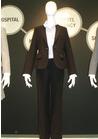 ◇美しいシルエットのパンツスーツの事務服