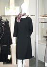 ◇凛とした品格溢れるブラックワンピースの受付制服♪