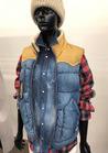 ◇細身シルエットがかっこいい軽量半袖防寒服