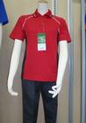 ◇静電気防止の作業用半袖ポロシャツ