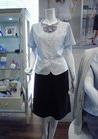 ◇シフォンのリボンがふんわりキュートな事務服