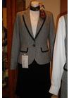 ◇高級感漂う凛とした印象のツイードオフィス用事務服