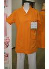 ◇場が明るくなるビビットオレンジのカラースクラブジャケット